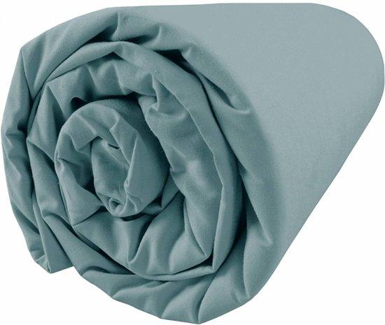 Matt & Rose Dragées délices Blue - Hoeslaken - Tweepersoons - 160 x 200 cm - Groen