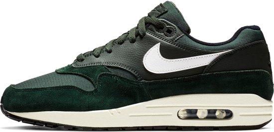 Nike Air Max 1 Sneakers DonkergroenZwart Heren Maat 42.5