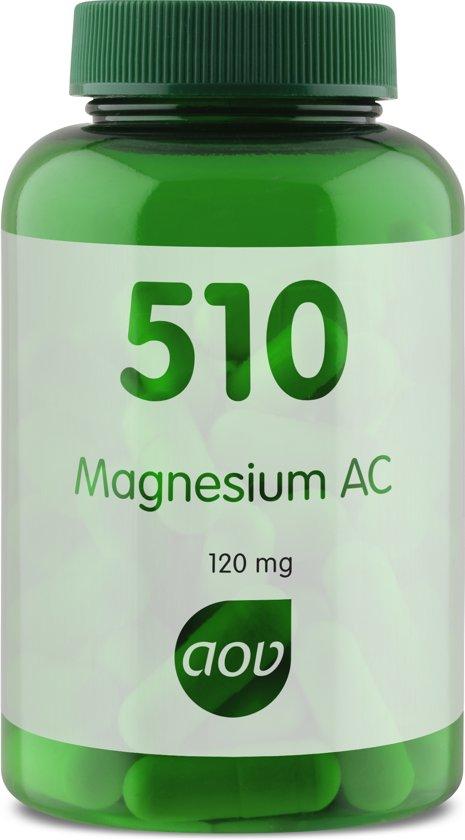 AOV 510 - Magnesium Glycinaat - 60 Capsules - Mineralen
