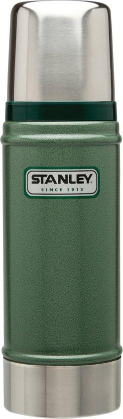 Stanley Classic Vacuum Bottle Thermosfles - 473 ml - RVS - Hammertone Green