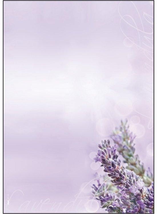 designpapier Sigel A4 90grs pak a 50 vel Lavendel