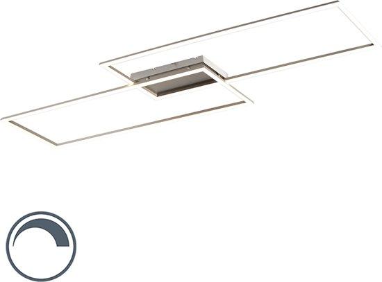 Paul Neuhaus plazas 2 - Plafondlamp - 1 lichts - L 1132 mm - Staal