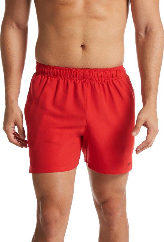Nike Swim 5 Volley Short Heren Zwembroek - University Red - Maat XXL
