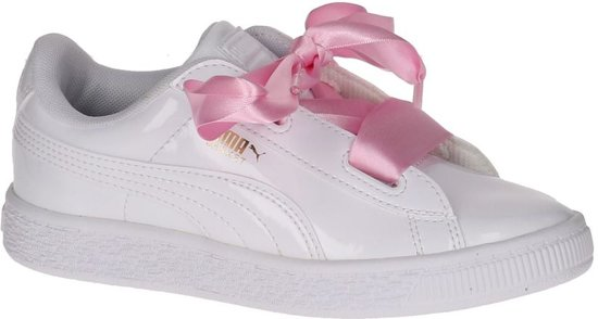 7607a902906 bol.com | Puma - 363352 - Lage sneakers - Meisjes - Maat 32 - Wit ...