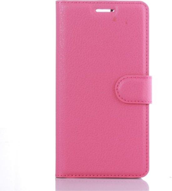 Huawei P9 Hoesje Roze met Opbergvakjes in Ofwegen