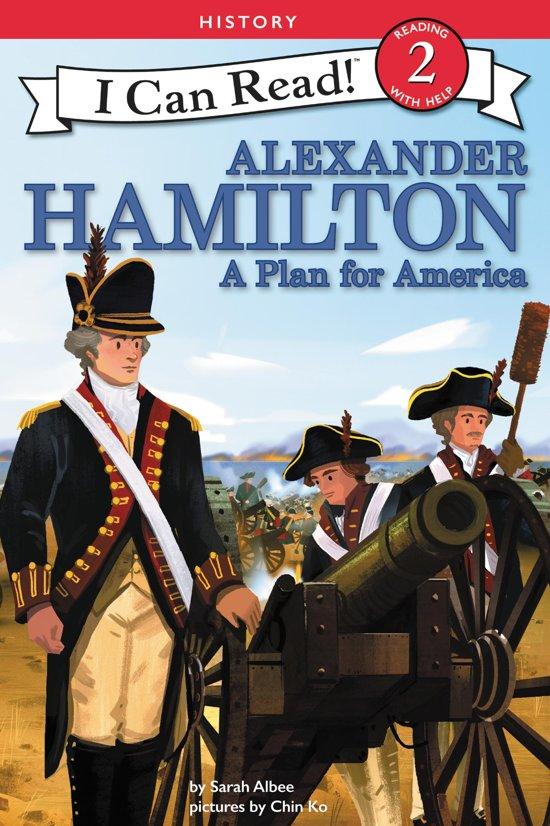 Boek cover Alexander Hamilton: A Plan for America van Sarah Albee (Onbekend)
