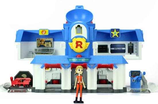 Robocar Poli Transforming Hoofdkwartier - Speelset