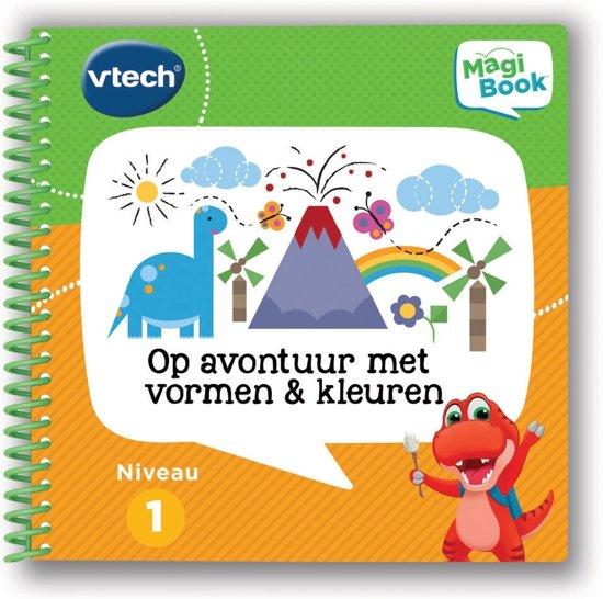 VTech Magibook Op Avontuur Met Vormen & Kleuren 2-5 jaar