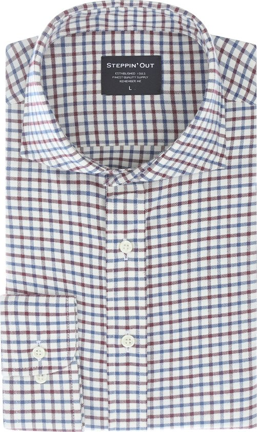 Steppin' Out Mannen Brushed Cotton Cutaway