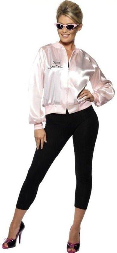 Grease Pink lady jasje - jaren 50 kostuum - maat L (44-46)