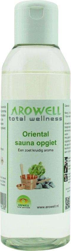 Arowell - Oriental sauna opgiet saunageur opgietconcentraat - 150 ml