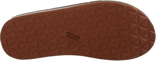Sportieve Heren Maat Slippers Leather 1009037 classic Teva Earth Premium Dkea Bruin dark Flip 42 qwX4UA
