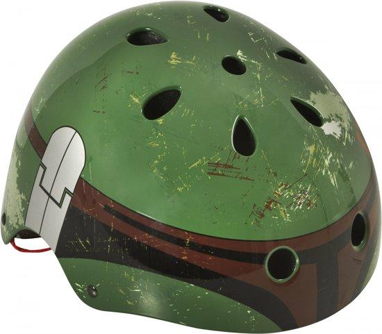 Disney Skate Helm Boba Fett Junior Groen Maat 54-58 Cm