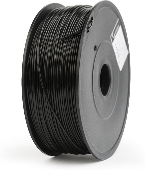 Gembird3 FF-3DP-ABS1.75-02-BK - Filament (600 g) ABS, 1.75 mm, zwart