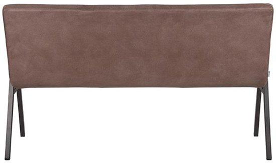 LABEL51 - Eettafelbank Matz 145 cm - Microvezel - Truffle