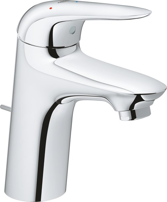 GROHE Eurostyle New Wastafelkraan - Lage uitloop - Met trek-waste