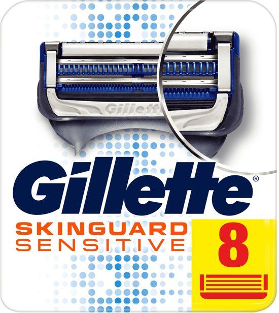 Gillette Skinguard Sensitive Scheermesjes - 8 stuks