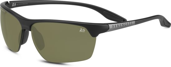 Serengeti Linosa 8748 Satin Black Polar 555NM