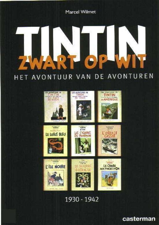 Kuifje diversen Tintin - zwart op wit