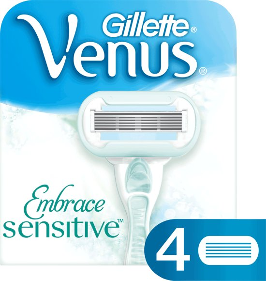 Gillette Venus Embrace Sensitive - 4 stuks - Scheermesjes