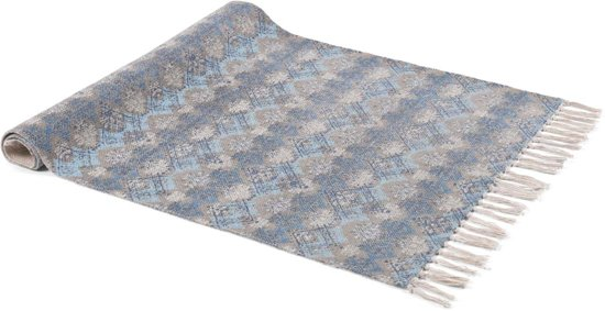 Vloerkleed Rocco 75x120 cm donkerblauw multi