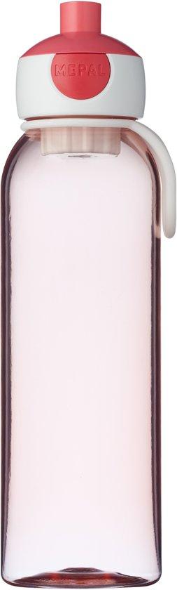 Mepal Campus waterfles - 500 ml - pop-up dop - roze