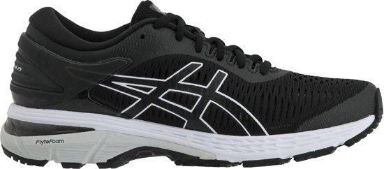 Asics Gel Kayano 25 Hardloopschoenen Dames Sportschoenen Maat 40 Vrouwen zwartwit