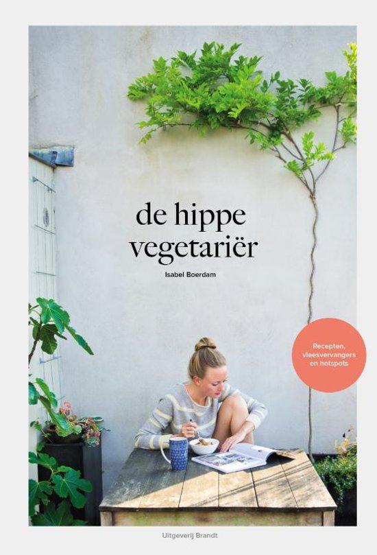 Boek cover De hippe vegetariër van Isabel Boerdam (Hardcover)