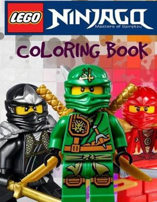 bol.com   Lego Ninjago Coloring Book   9781544002705   Ole ...