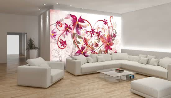 Fotobehang Art | Paars | 208x146cm