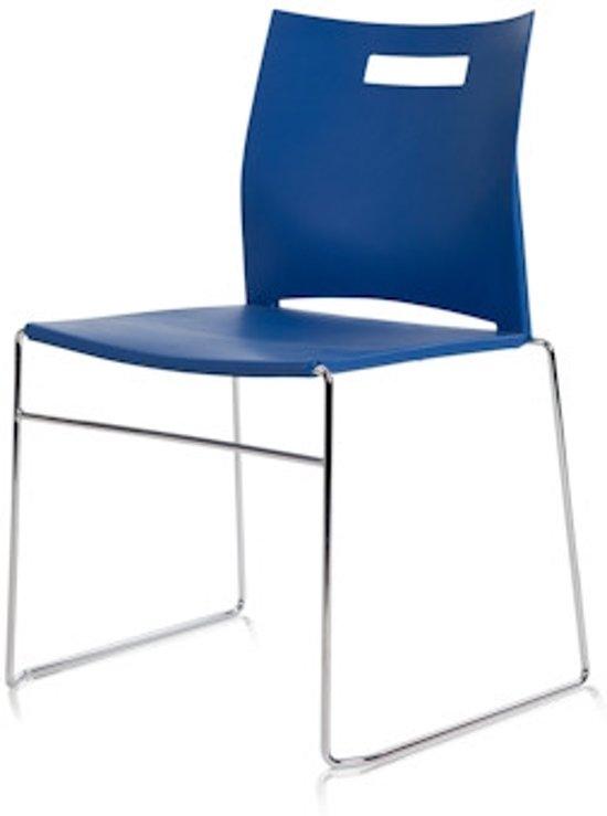 24Designs Conferentiestoel Como - Blauw
