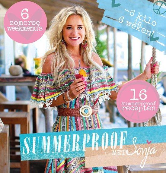 Boek cover Summerproof met Sonja van Sonja Bakker (Paperback)