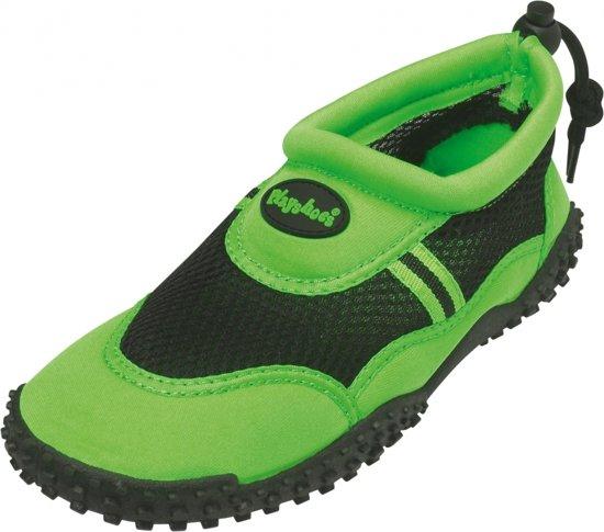 Groene waterschoenen met trekkoord 37