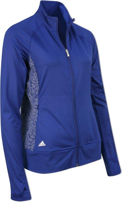 21dc41fd94c bol.com | Adidas Dames Golf Vest Blauw Maat L
