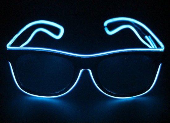 bol.com | Bril met blauwe LED verlichting, Merkloos | Speelgoed