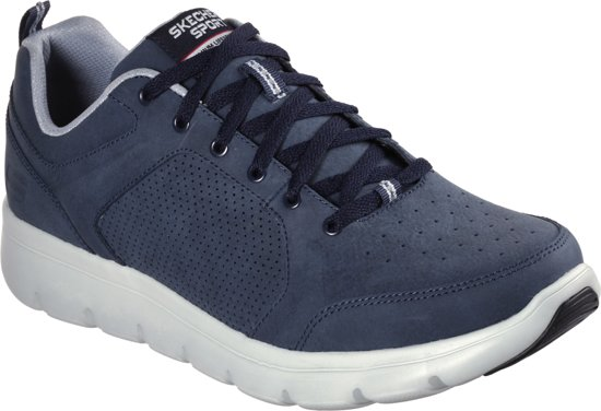 Skechers Sneakers Maat45 Navy Heren Marauder Grey 1na1F