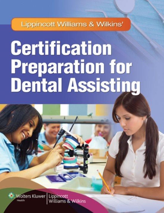 Lippincott Williams & Wilkins' Certification Preparation for Dental Assisting