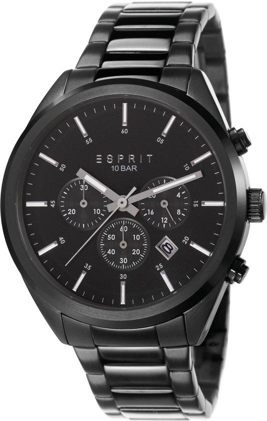 e27a0ba3102 ESPRIT Heren horloge Chronograaf - Glendale Midnight - ES106261008
