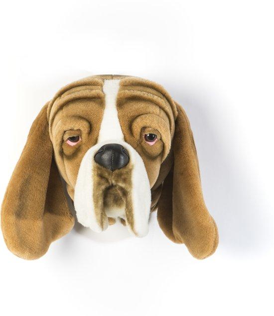 bolcom wildampsoftwanddecoratie dierenkop pluche hond