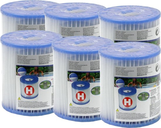 Six pack Intex Filtercartridge H