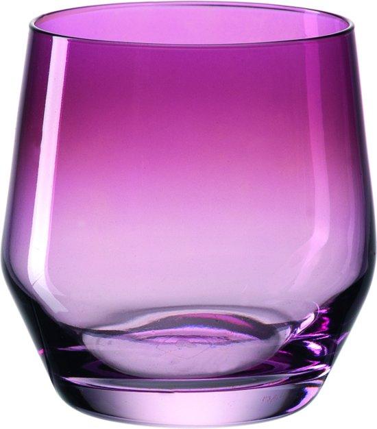 Leonardo Puccini - Waterglas - violet - 6 stuks