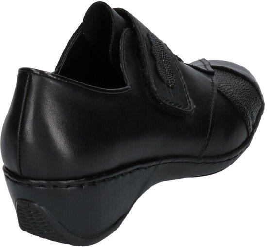 Instappers Zwarte Rieker Comfortabele Zwarte Comfortabele qxZw64p1