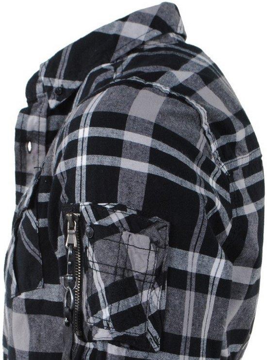 Overhemd Rits Borstzakken Deon Zwart Mz72Heren Geblokt dxQWCBroe