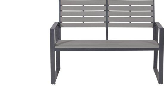 Garden Impressions - Detroit aluminium tuinbank - royal grey