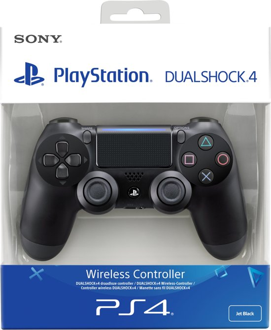 Sony PlayStation 4 Wireless Dualshock 4 V2 Controller - Zwart - PS4