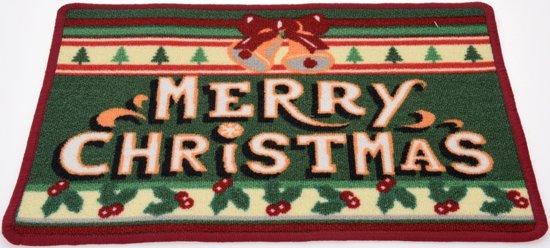 Kerst Deurmat Merry Christmas 60x40 cm