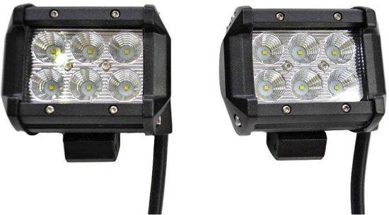 LED Worklamp 2 x 18W Floodlight Bar LEDBalk
