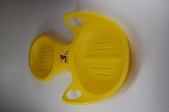 Plastic Slee - geel - 85x52x8cm