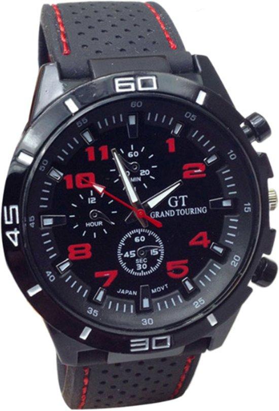 GT Sport Horloge - Rood