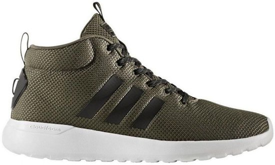 6d2386106fd bol.com | Adidas Lite Racer Mid groen sneakers heren